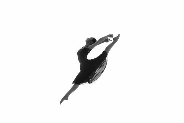 古建筑舞蹈人像-天坛公园