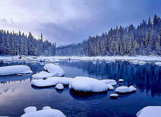 冬季,到新疆去看雪!——北疆大环线,一网打尽篇。